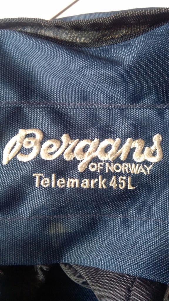 Plecak Bergans of Norway 45l