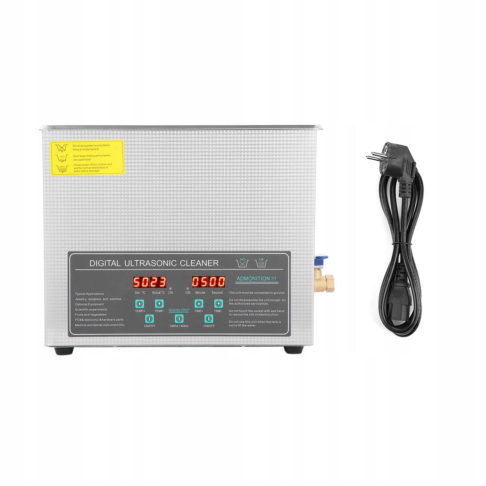 Maszyna do czyszczenia ultradźwiękowego EU 220 V
