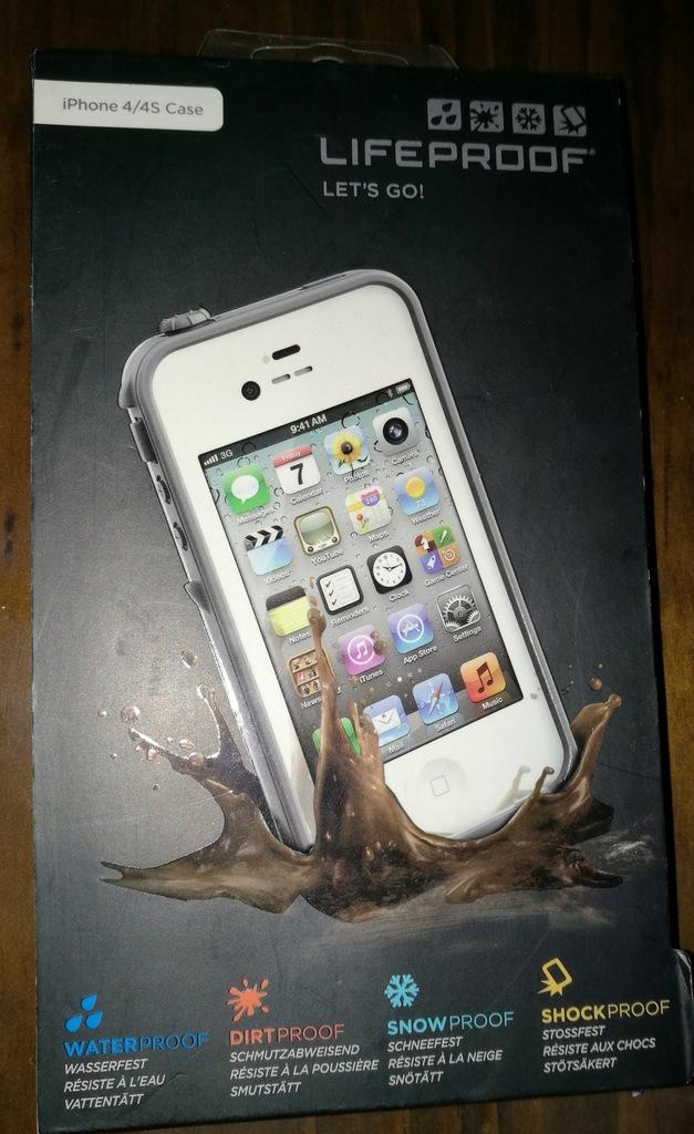 ETUI WODOODPORNE LIFEPROOF iPHONE APPLE 4/4S CASE