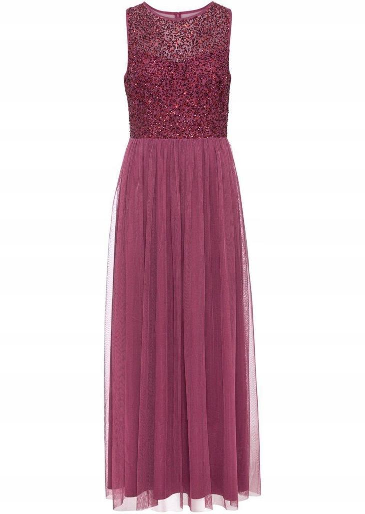Sukienka z cekinową aplikacją 50