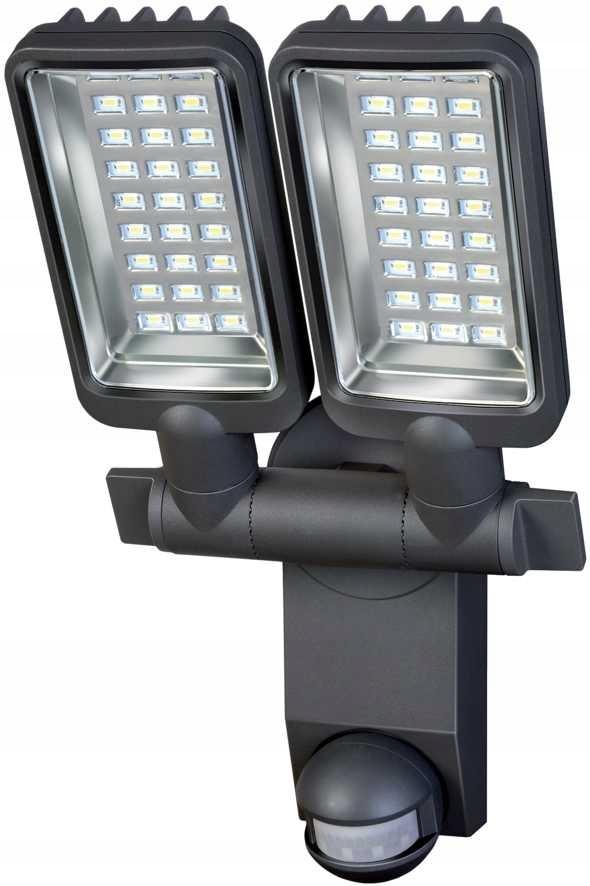 Reflektor LED podwójny IP44 z czujnikiem PIR 2160L