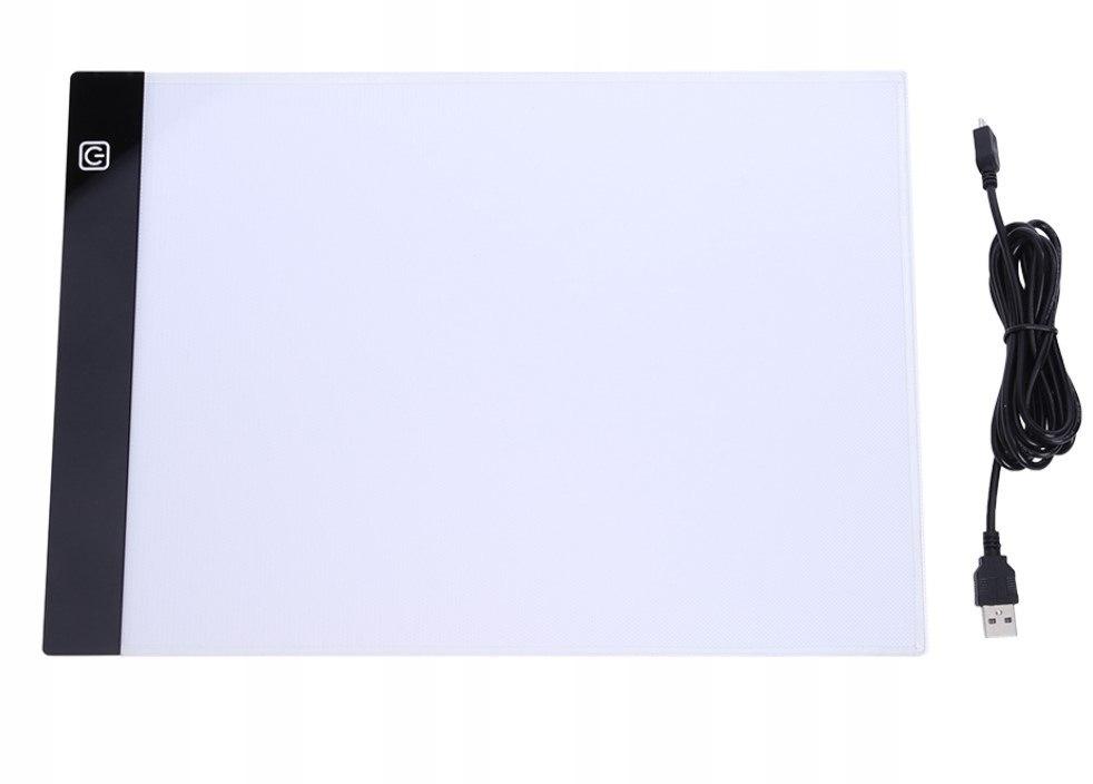 Deska kreślarska tablica kalka podświetlana LED