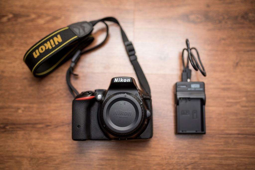 Lustrzanka Nikon D5500 Body