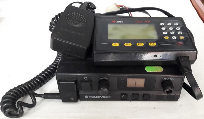 CB RADIO TAXI RADMOR -m.3055T1C 54327A +PRZYSTAWKA