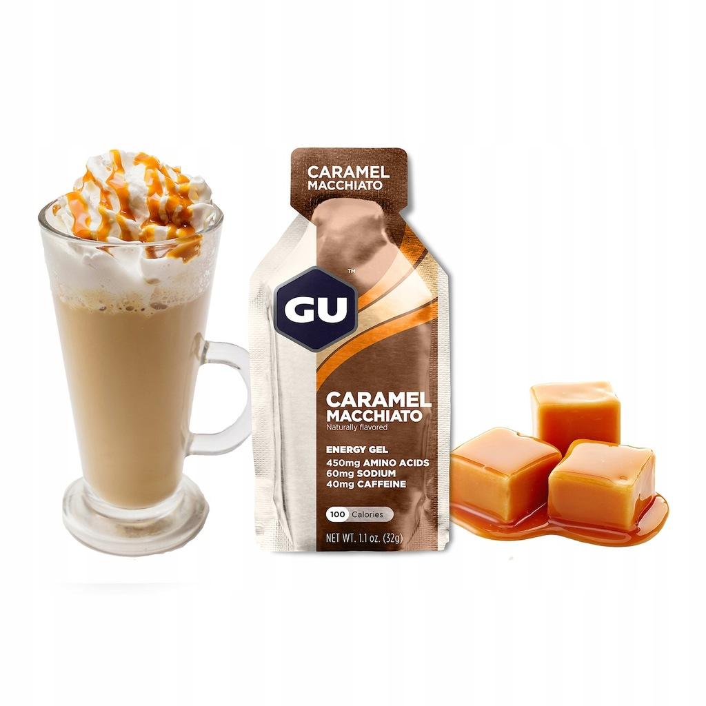 Żel energetyczny GU GEL - Caramel Macchiato