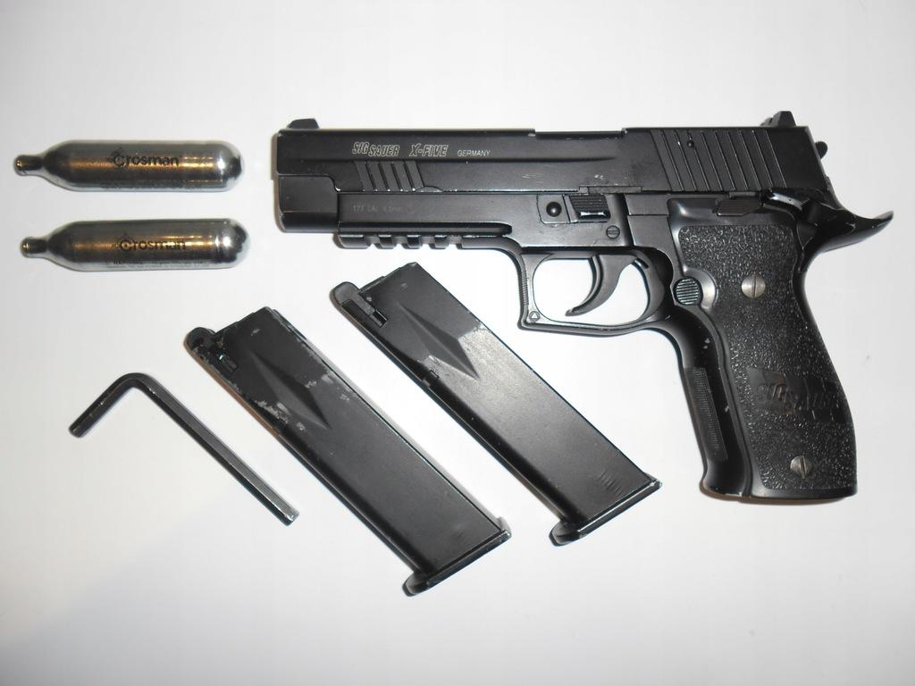 Wiatrówka GBB Pistolet Sig Sauer P226 X-Five co2
