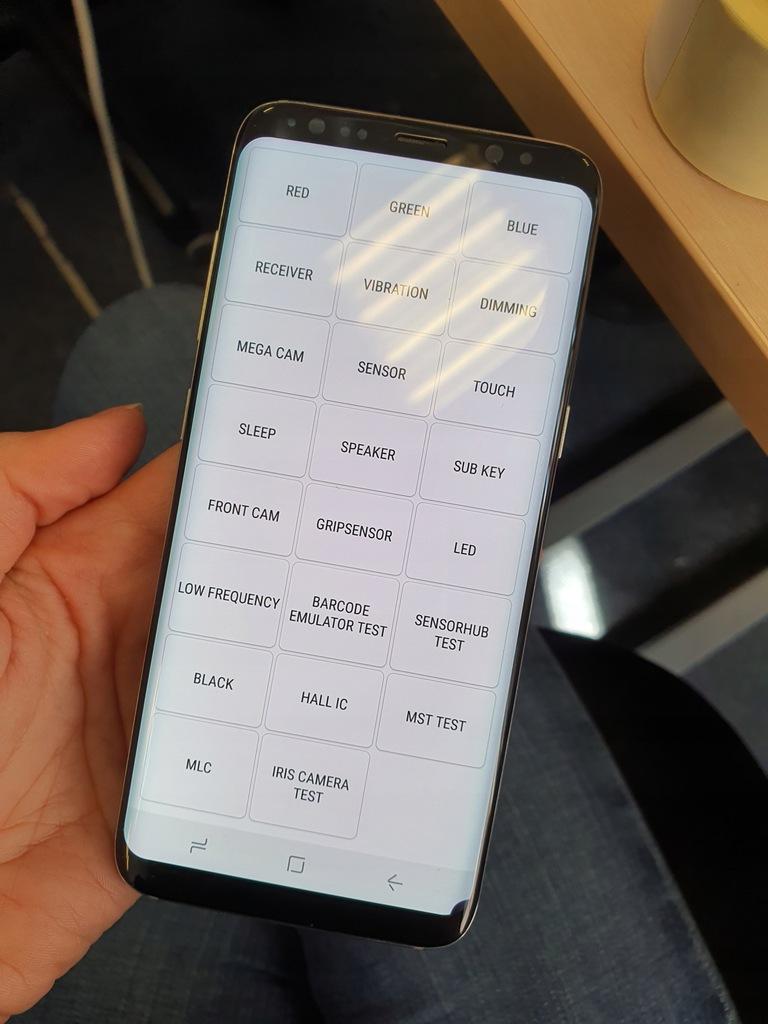 Wyświetlacz lcd ekran SAMSUNG S8 G950 Z WADĄ #6