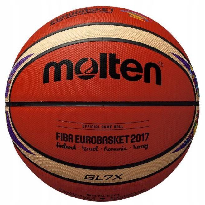 PIŁKA DO KOSZYKÓWKI Molten BGL7X-E7T EuroBasket 7