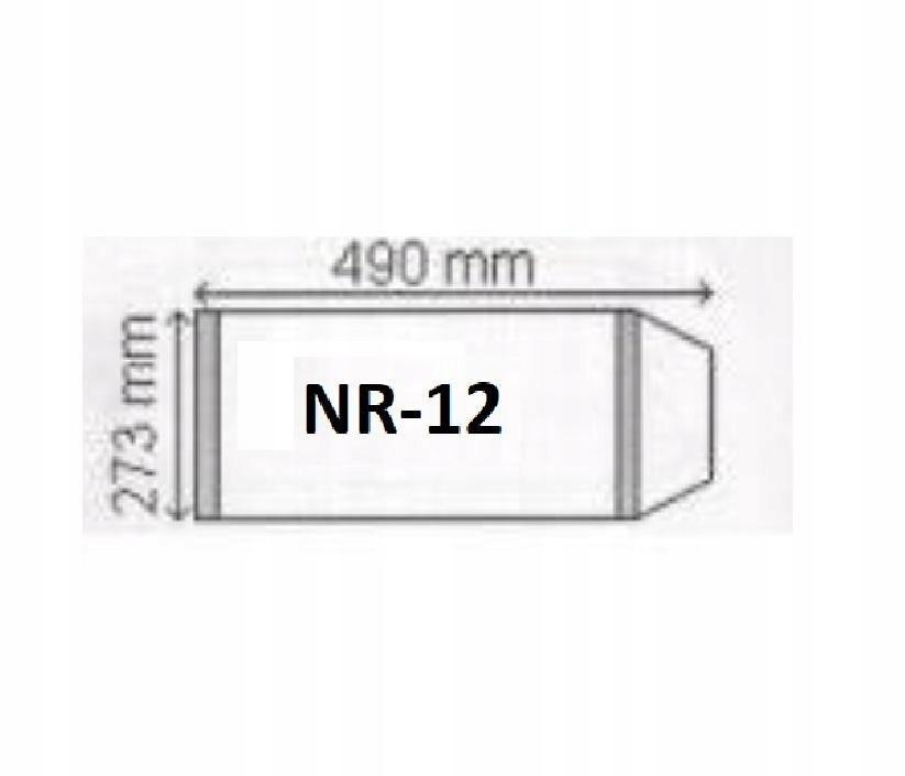 Okładka na podr A4 regulowana nr 12 (25szt) NARNIA