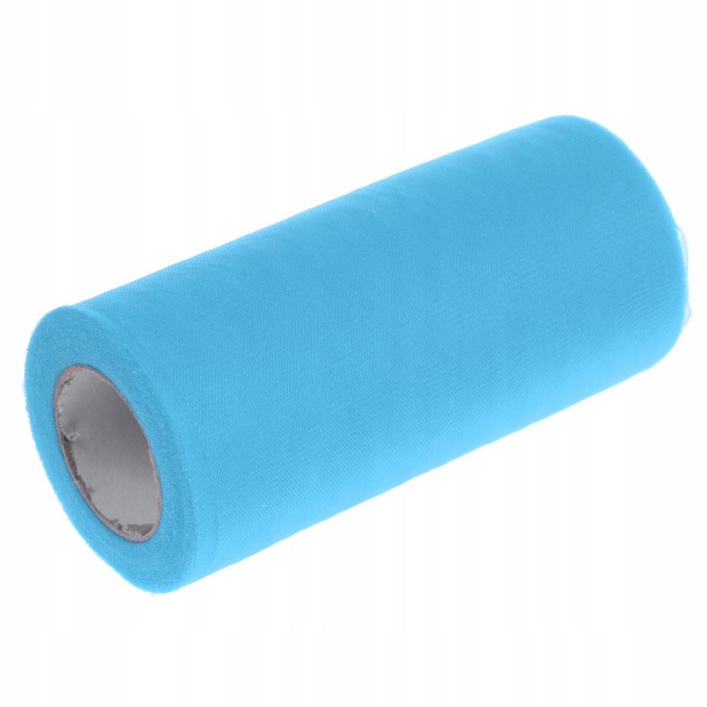 Tiulowa szpula z tkaniny - Jezioro niebieski