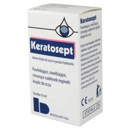 Keratosept, krople do oczu 10 ml nawilżające wzrok