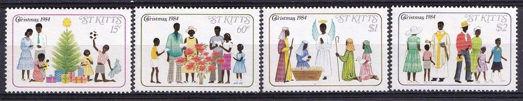 ST.KITTS** Mi 152-5 Boże Narodzenie