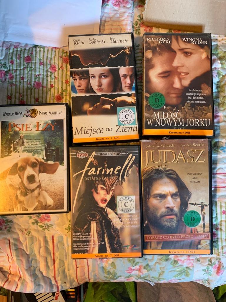 Zestaw VHS 25