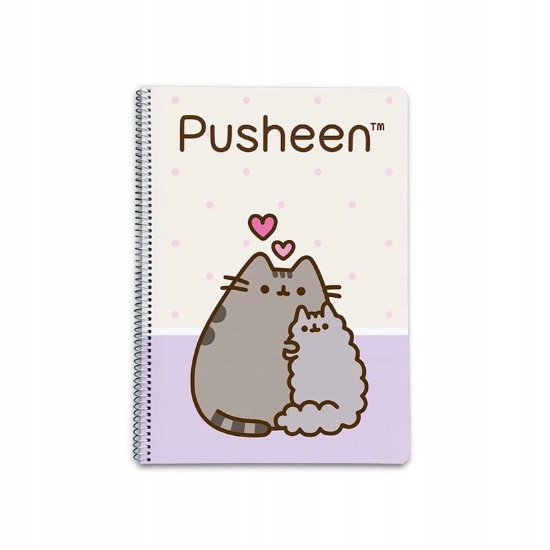 Pusheen The Cat - notes A4, zeszyt na notatki