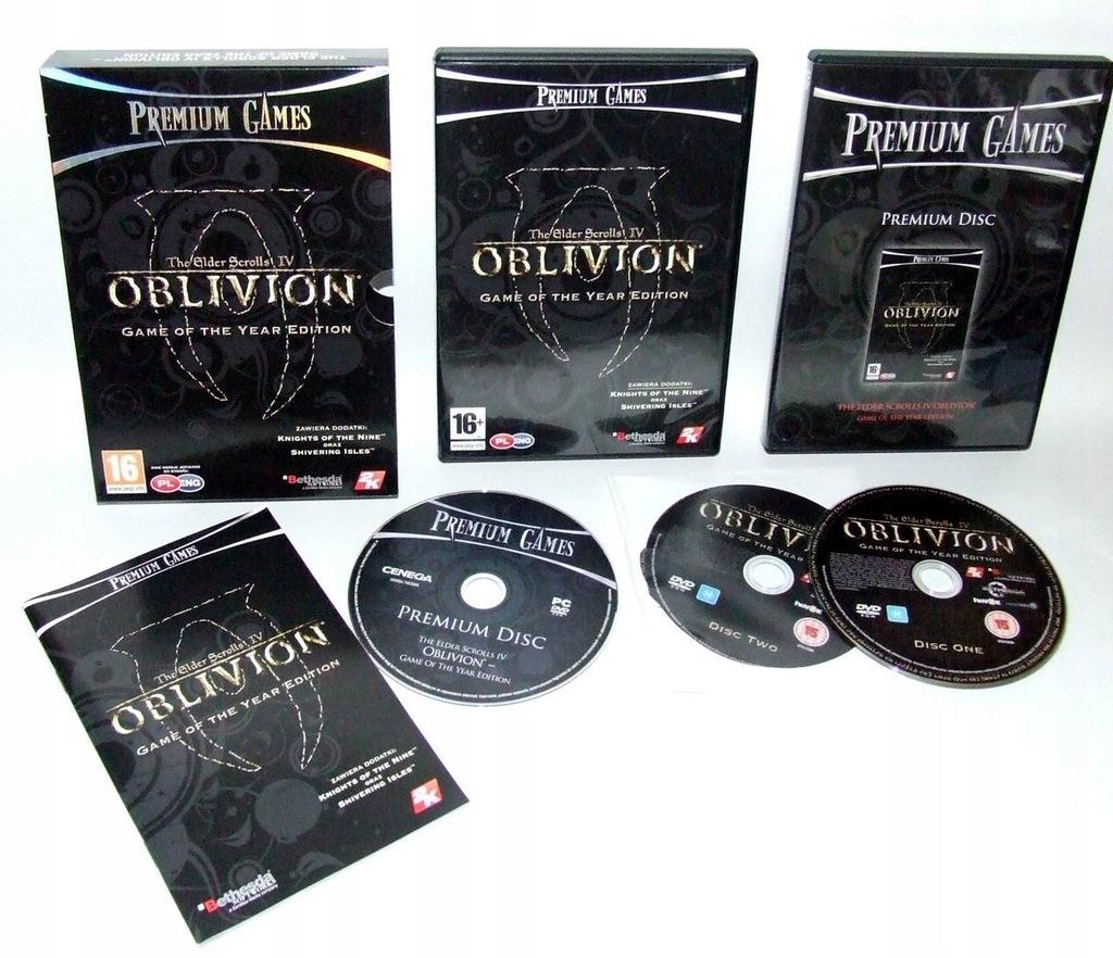 The Elder Scrolls IV 4 OBLIVION - GOTY [PL] bdb