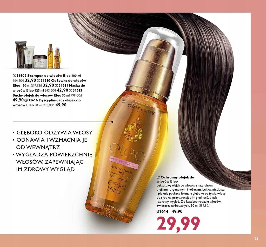 Oriflame Ochronny olejek do włosów Eleo