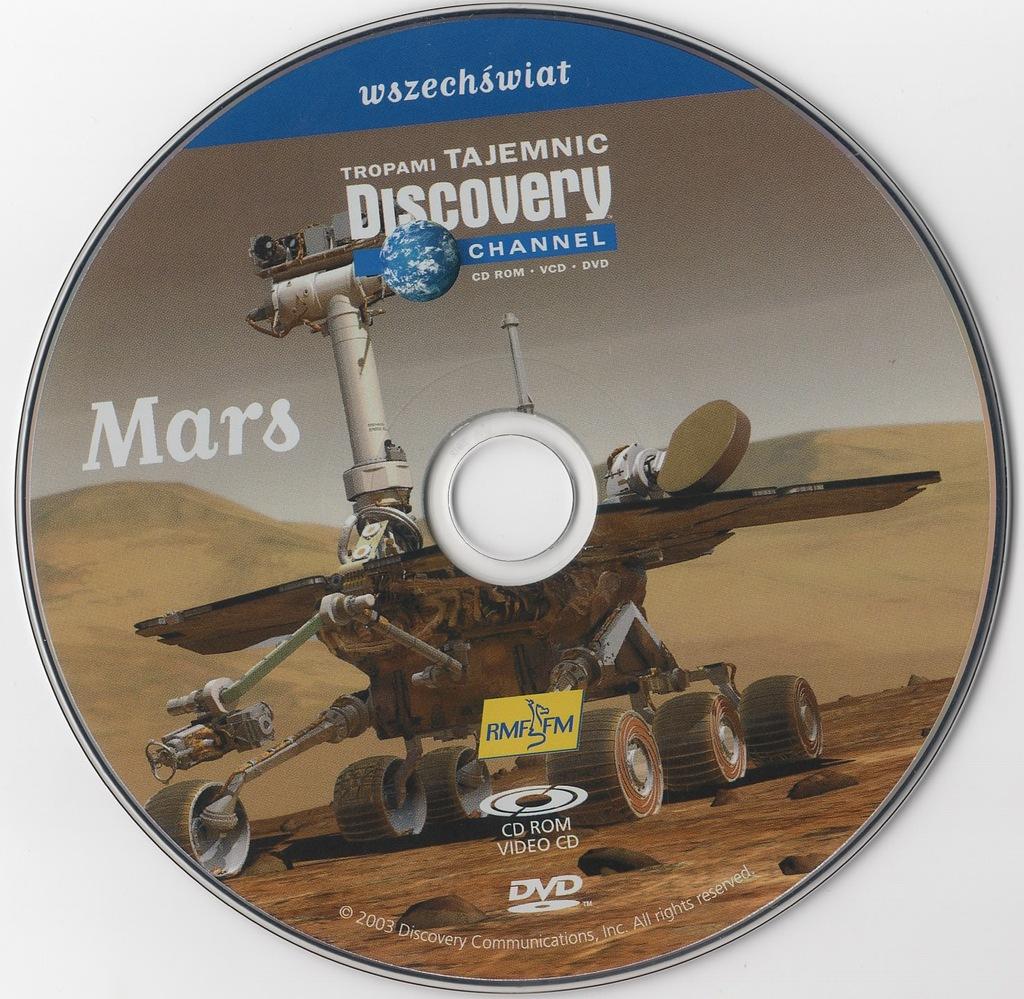 Tropami tajemnic Discovery Channel - Mars