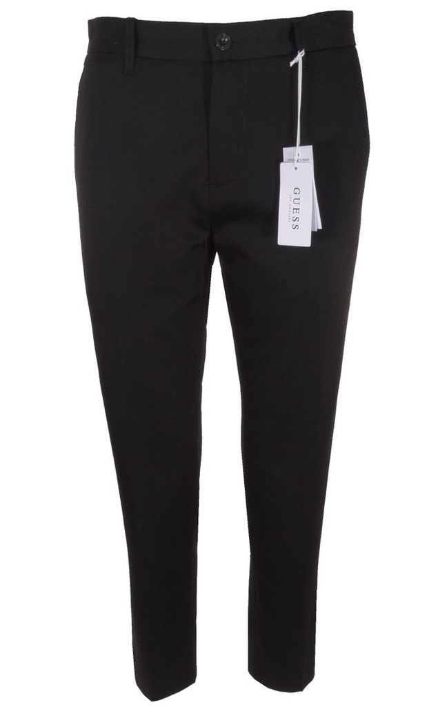 GUESS spodnie męskie, czarne, eleganckie 3330