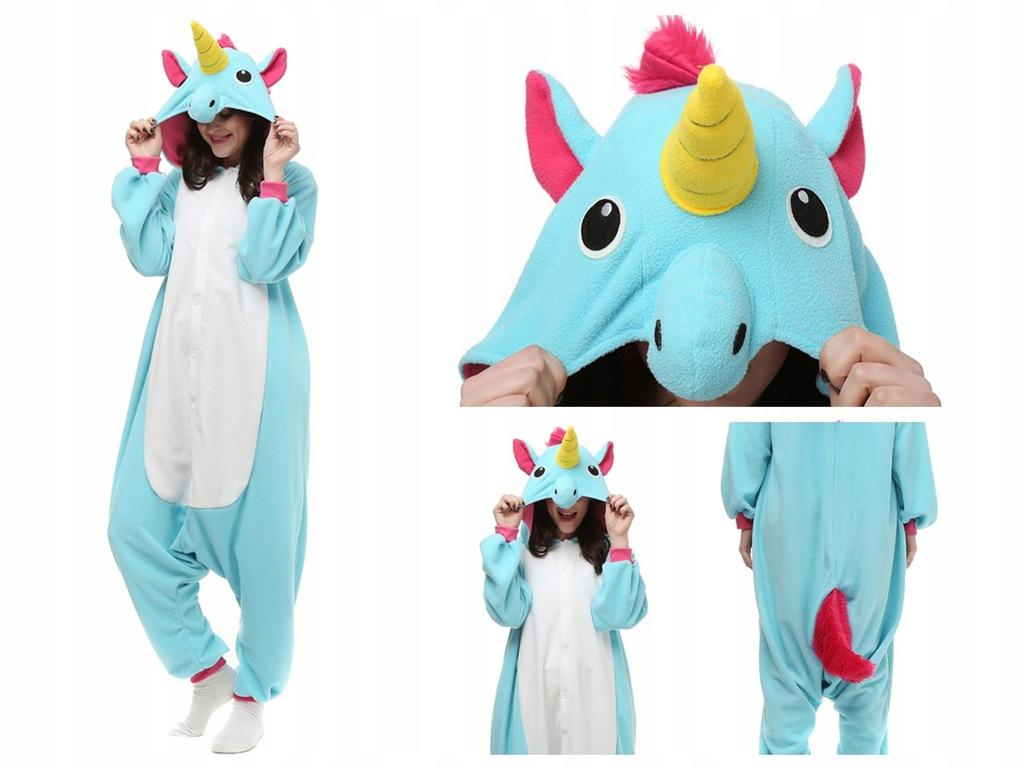 Kigurumi piżama JEDNOROŻEC onesie PEGAZ unicorn S