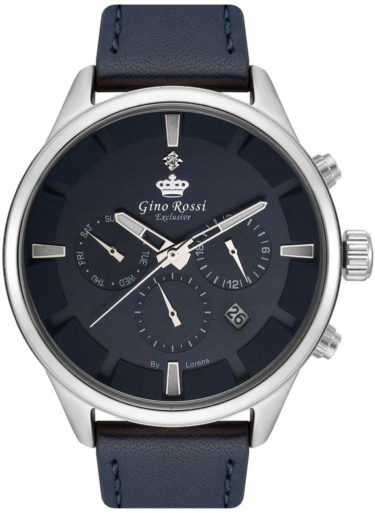 Zegarek Męski Gino Rossi Exclusive Chronograf E116
