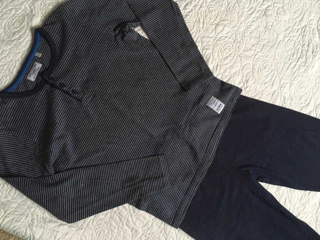 piżama piżamka C&A rozm.146 152 granat