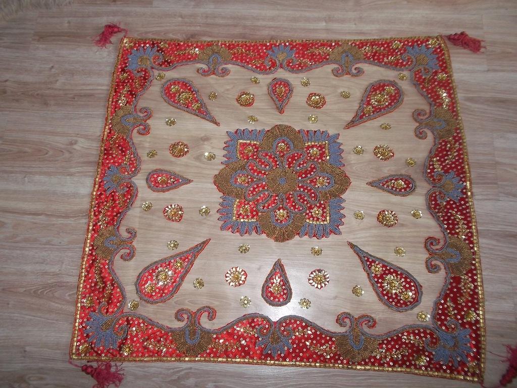 Makatka , kilim Indyjski , ręcznie haftowany ,duży