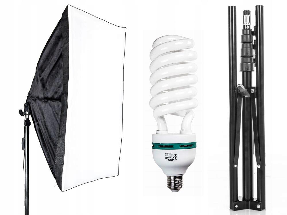 Lampa SOFTBOX światła ciągłego 50x70cm 85W JH-308