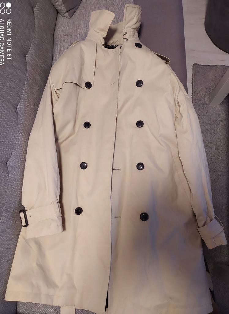 Płaszcz z paskiem Reserved - NOWY męski
