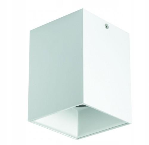 Ładny plafon TUBA biały 1L salon sypialnia