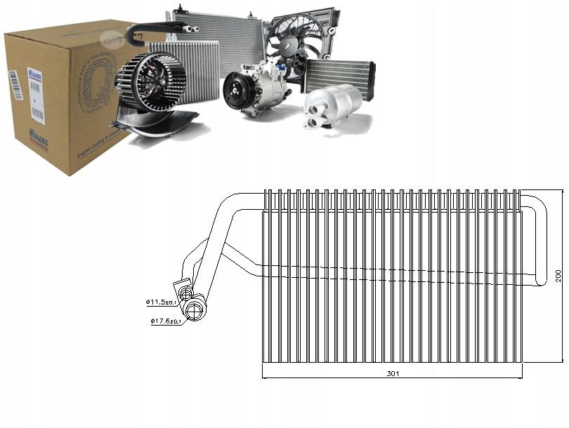 PAROWNIK KLIMATYZACJI MERCEDES E 350 4-matic (211.