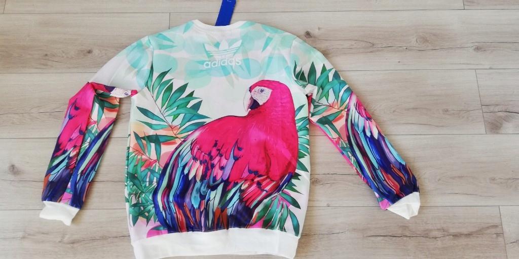adidas bluza papuga