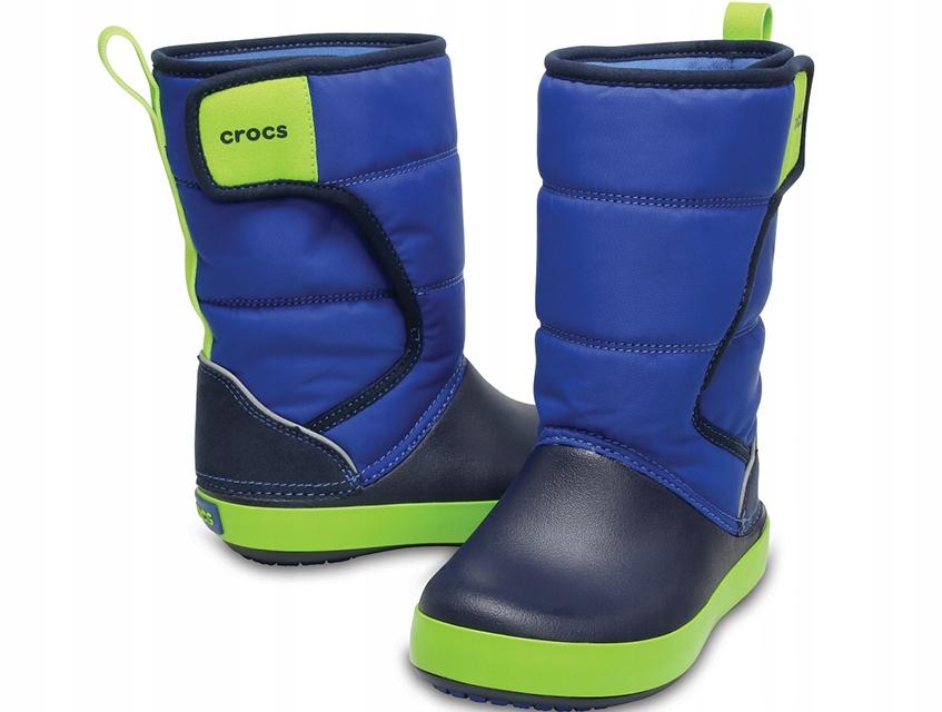 CROCS LODGE POINT SNOW BOOT (2046604HD) 32-33