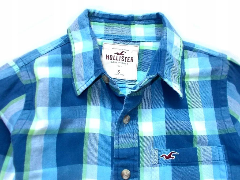Hollister koszula .ML 8661765054 oficjalne archiwum Allegro  YZYSl