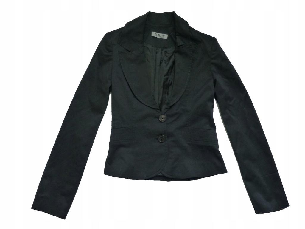 NOIX FASHION czarny elegancki żakiet XS