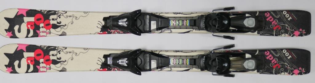 narty dla dziewczynki SALOMON JADE 100cm