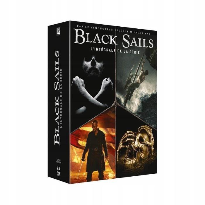 Black Sails Sezony 1-4 DVD Ang. Wer.