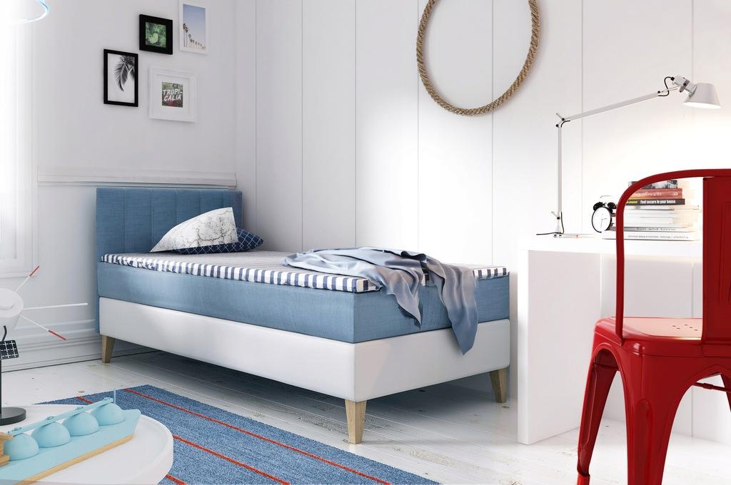 INTARO A10 łóżko kontynentalne 90x200 pocket