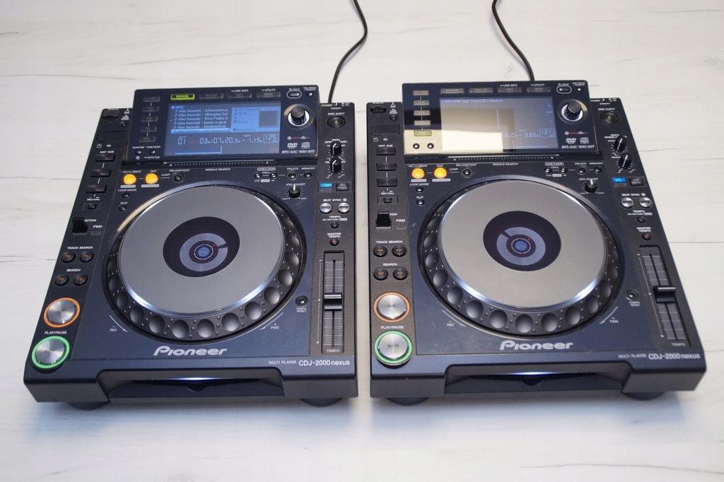2 X PIONEER CDJ 2000 nexus GWARANCJA DJM 800 900