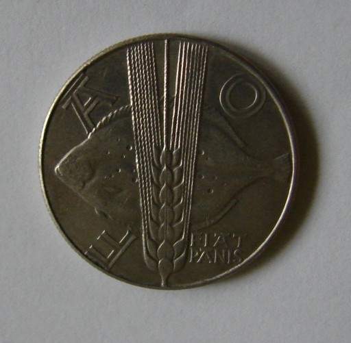 Moneta 10 zł FAO 1971 PRL