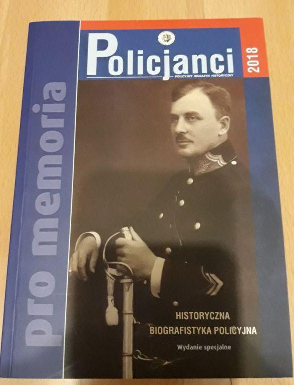 Książka Policjanci 2018