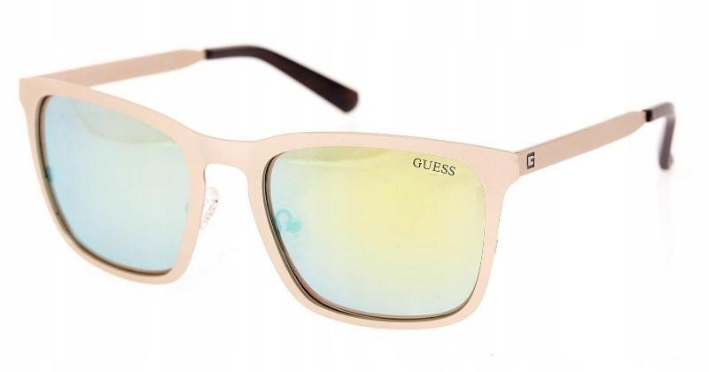 Okulary GUESS 6880 32Q złote oryginalne + etui
