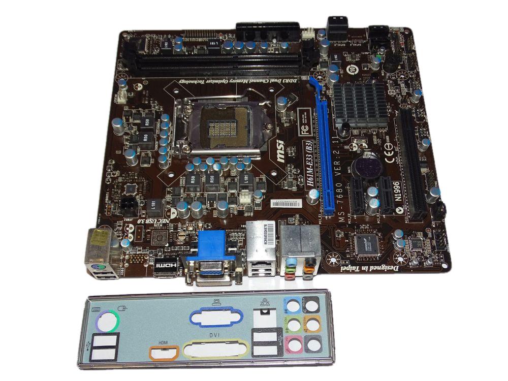 MSI H61M-E33.