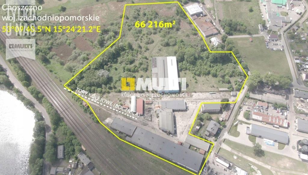 Magazyn Choszczno, choszczeński, 66216,00 m²