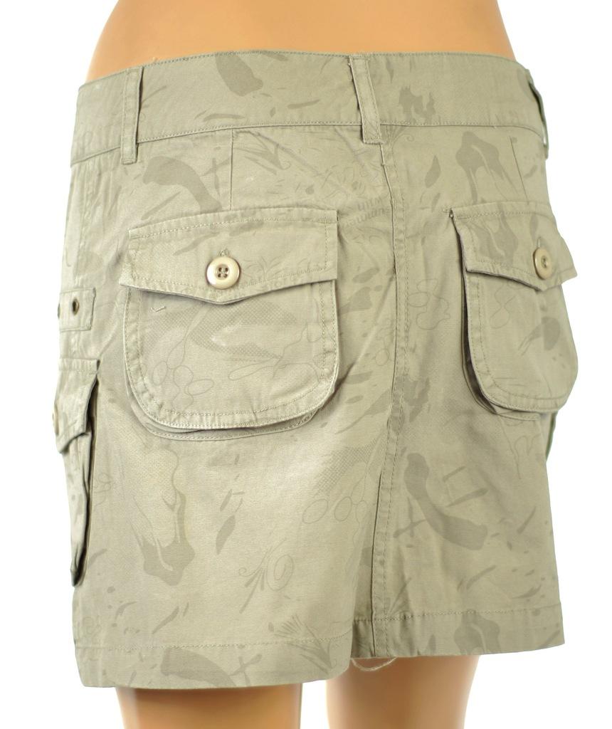 Spódnica damska jeans wojskowy styl 40L