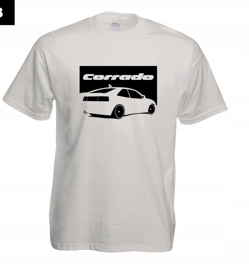 Koszulka z nadrukiem VW CORRADO rozm.L MT303