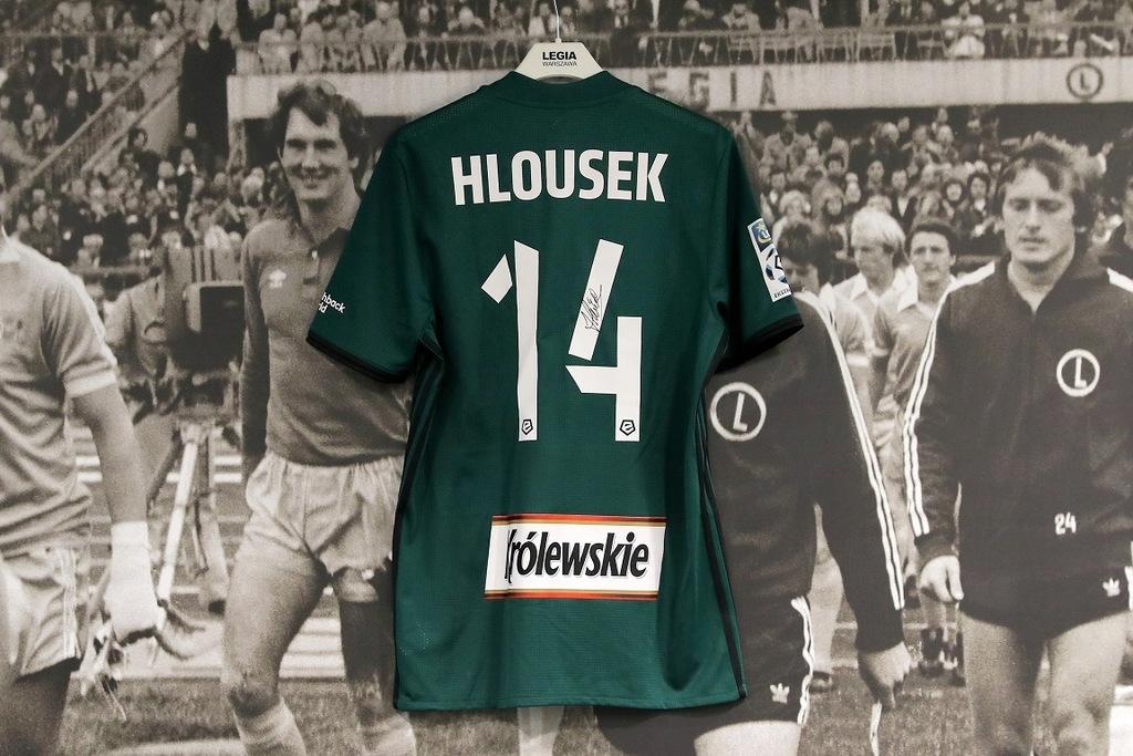 Koszulka Adama Hlouska z meczu z Górnikiem