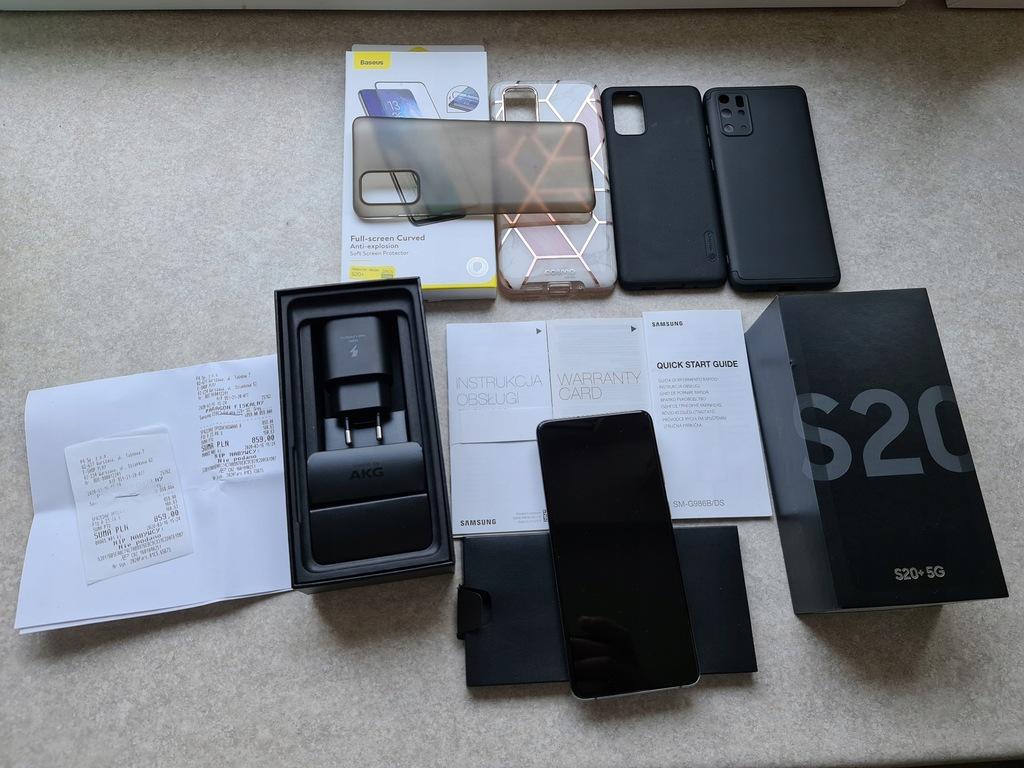 Samsung Galaxy S20+ 5G 12/128GB G985 Grey Z PLAY!