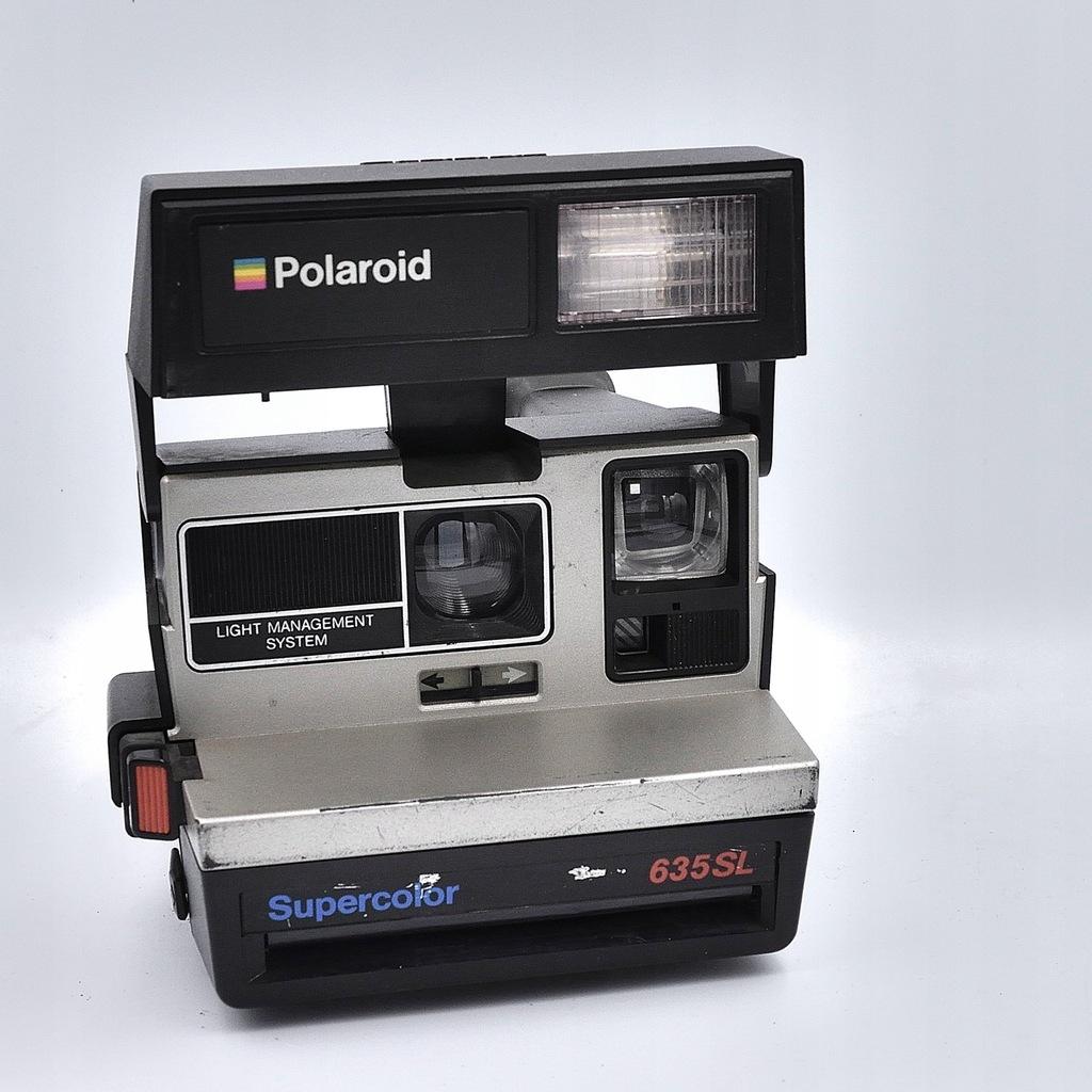 Aparat natychmiastowy Polaroid 635 SL SPRAWNY