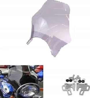 Szyba motocyklowa HONDA CB 500 PC26
