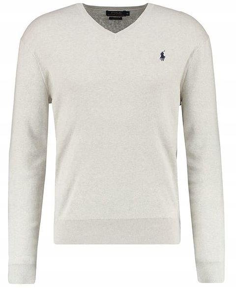 Sweter Męski Polo Ralph Lauren Slim Fit V-Neck S